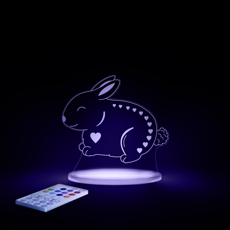 Aloka Multi Coloured Children's Night Light-Bunny