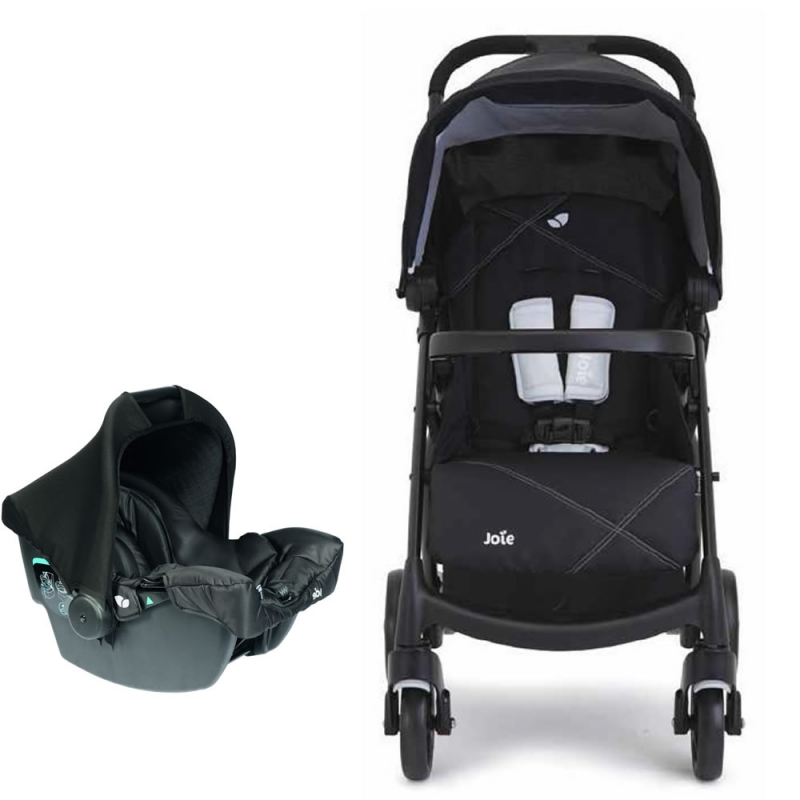 Joie Muze 2in1 Juva Travel System-Universal Black (New)
