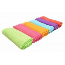 Kiddies Kingdom Deluxe 6 Pack Muslin Squares-Rainbow