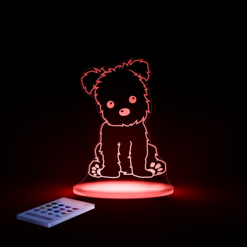 Image of Aloka Multi Coloured Children's Night Light-Puppy
