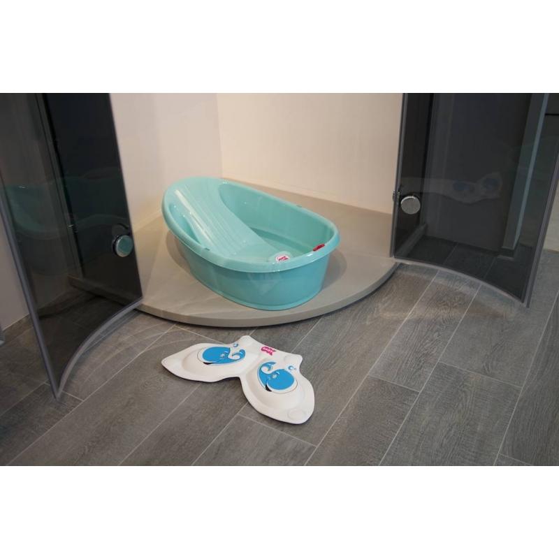 OK BABY Onda Baby Shower Bath-White | Kiddies Kingdom
