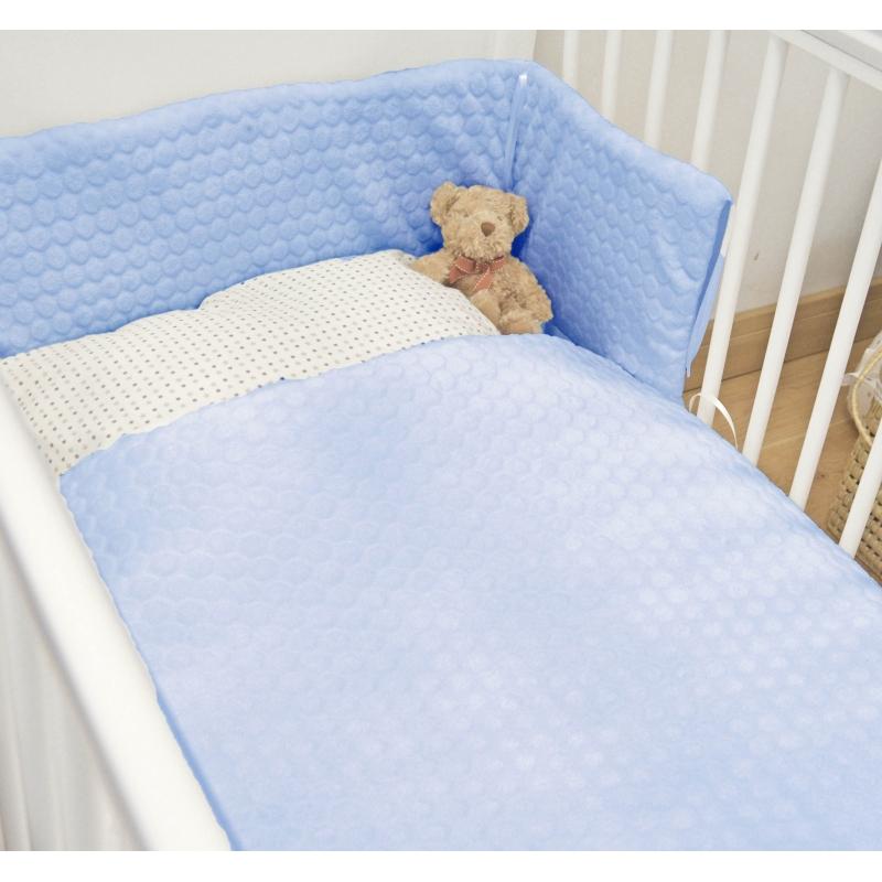 Kiddies Kingdome Marshmallow Cot/Cotbed LUXURY Quilt & Bumper Bedding Set-Cream