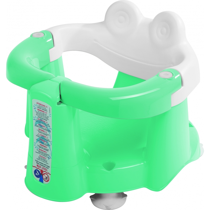 OK BABY Crab Opening Bath Seat-Aqua | Kiddies Kingdom
