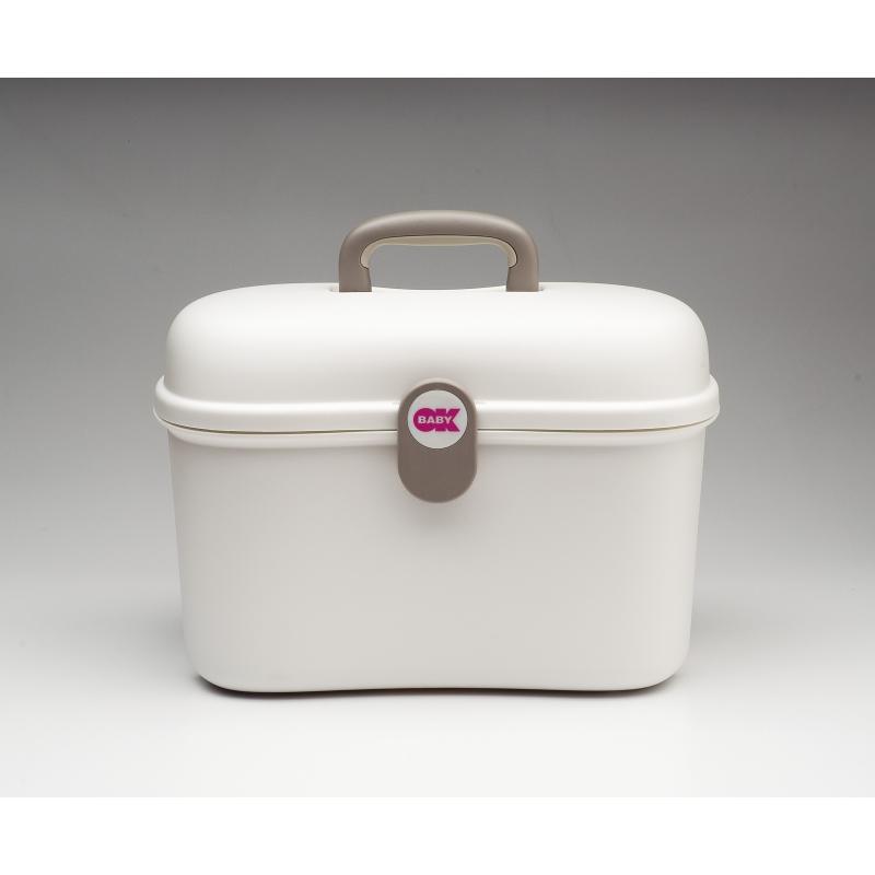 OK BABY Beauty Care Vanity Case-White