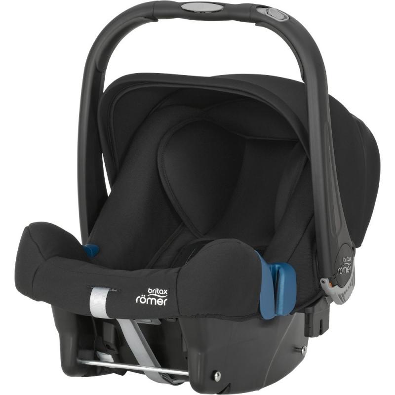 Britax Baby Safe Plus SHR II Group 0+ Car Seat-Cosmos Black (New)
