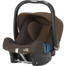Britax Baby Safe Plus SHR II Group 0+ Car Seat-Wood Brown