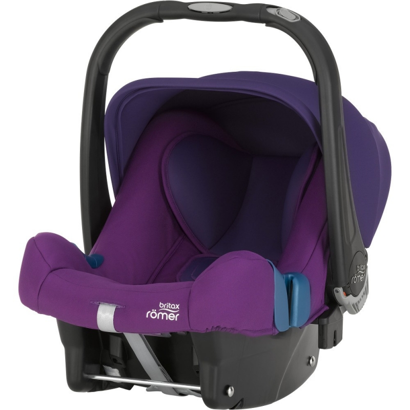 Britax Baby Safe Plus SHR II Group 0+ Car Seat-Mineral Purple (New)