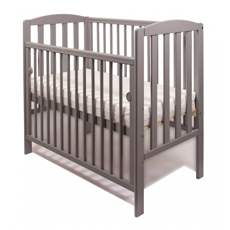 Little Babes Tobie Space Saver Cot-Grey + FREE MATTRESS!