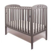 Little Babes Abbi Dropside Cot-Grey