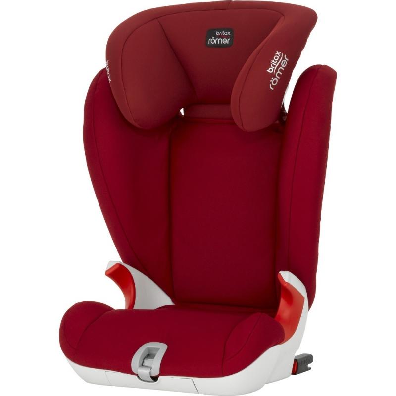 Britax Kidfix SL Group 2/3 Car Seat-Flame Red (New)
