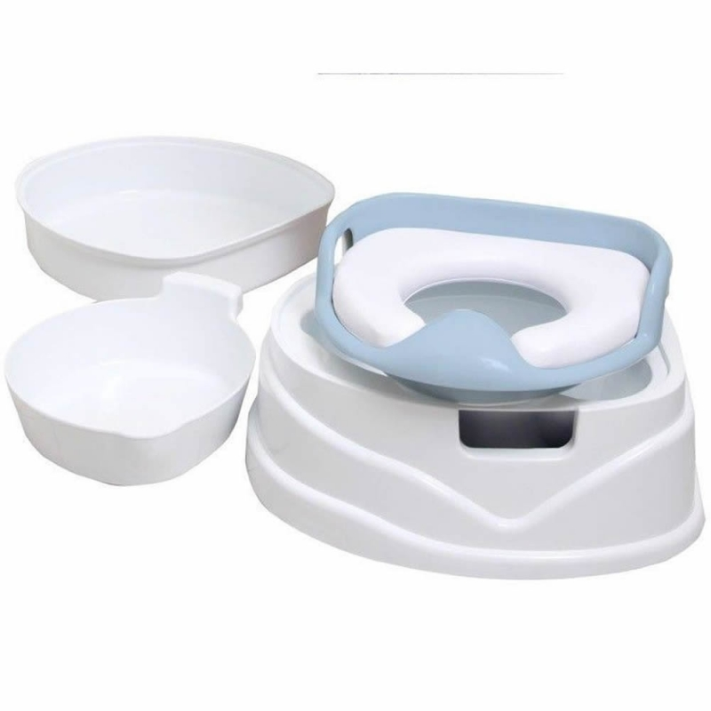 Soft Seat 4in1 Potty and Step Stool