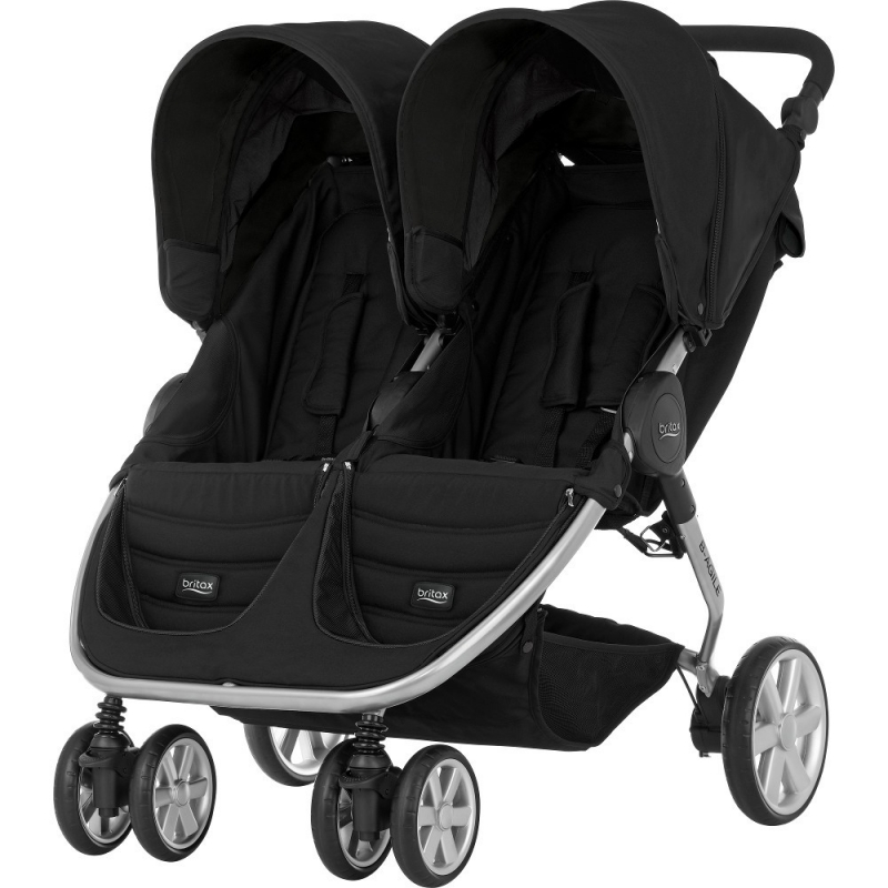 Britax Agile Double Stroller-Cosmos Black (New)