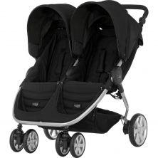 Britax B-Agile Double Stroller-Cosmos Black (New)