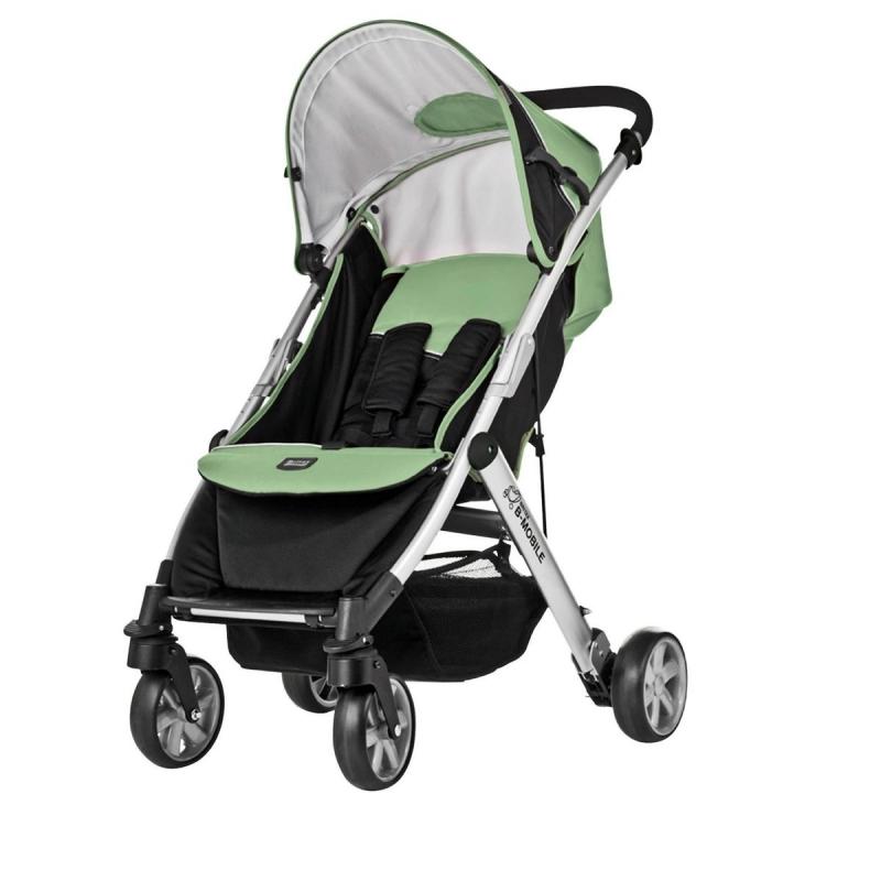 Britax B Dual 4 Pushchair-Aurora Green