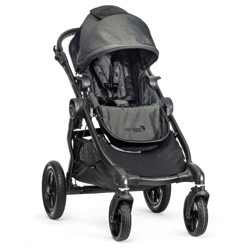 Baby Jogger City Select Stroller-Red
