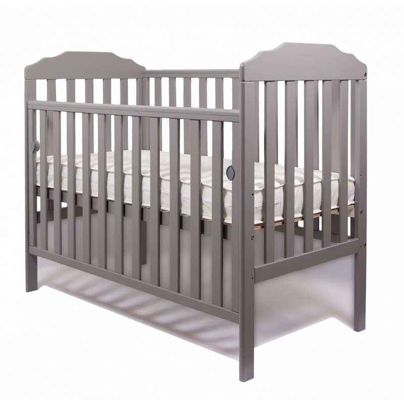 Little Babes Nicki Cot-Grey + Free Foam Mattress!
