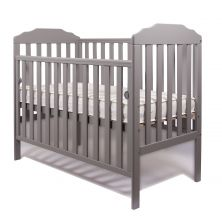 Little Babes Nicki Cot-Grey