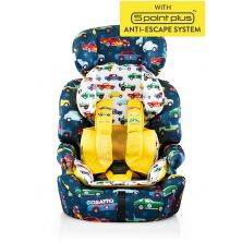 Cosatto Zoomi (5 Point Plus) 1/2/3 Car Seat-Rev Up (New)