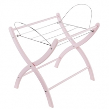 Izziwotnot Moses Basket Static Stand-Pink