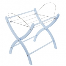 Izziwotnot Moses Basket Static Stand-Blue