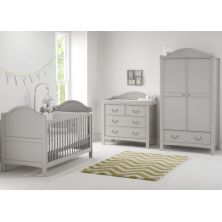 East Coast Toulouse 3 Piece Roomset-Grey HALF PRICE MATTRESS OFFER! LIMITED TIME ONLY