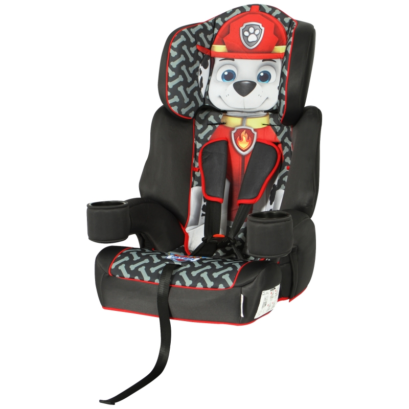 Kids Embrace High Backed Booster 1/2/3 Car Seat- Teenage Mutant Ninja Turtles
