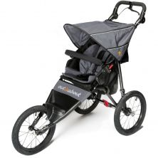 Out n About Nipper SPORT V4 Stroller-Steel Grey