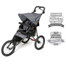 Out n About Nipper SPORT V4 Stroller-Steel Grey