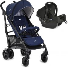 Joie Brisk Lx 2in1 Gemm Travel System-Midnight Navy (New)