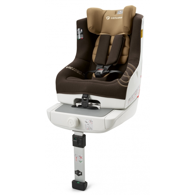 Concord Absorber XT Isofix Group 1 Car Seat-Walnut Brown