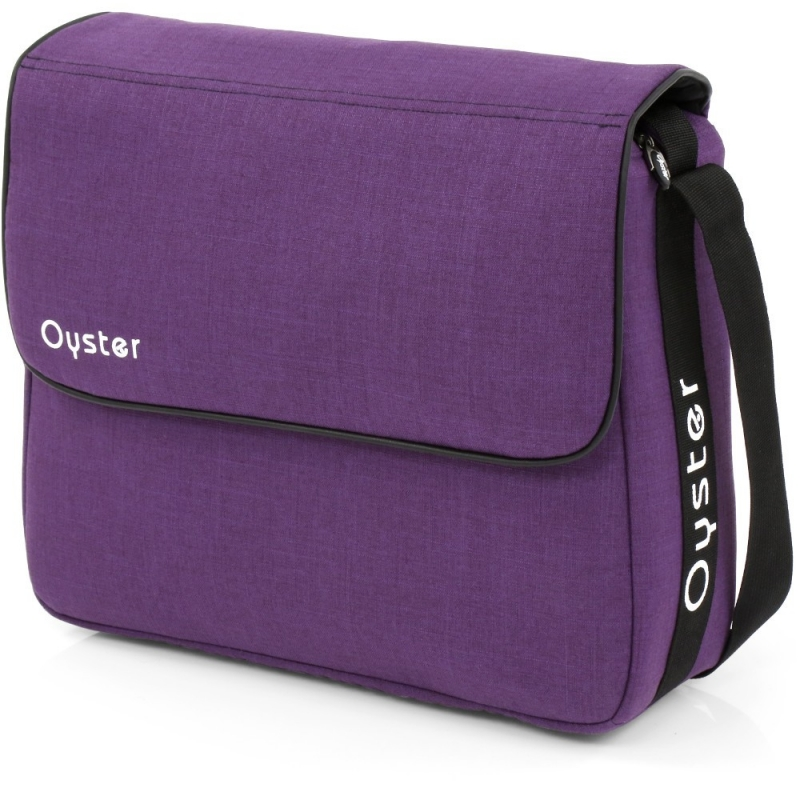 BabyStyle Oyster Changing Bag-Wild Purple