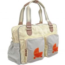 Kiddies Kingdom Deluxe Baby Changing Bag-Butterfly