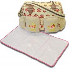 Kiddies Kingdom Deluxe Baby Changing Bag-Ladybird