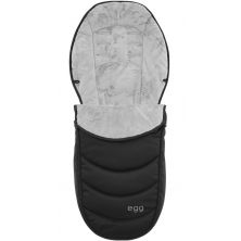egg® Footmuff-Gotham/Shadow/Espresso Black