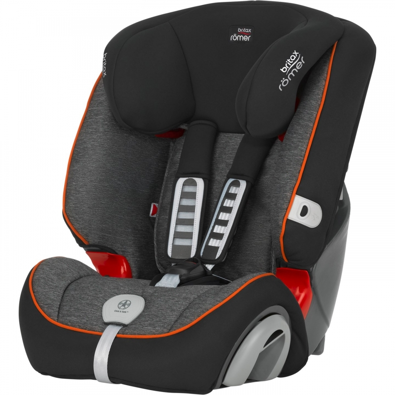Britax Evolva 123 plus Car Seat-Black Marble (New)