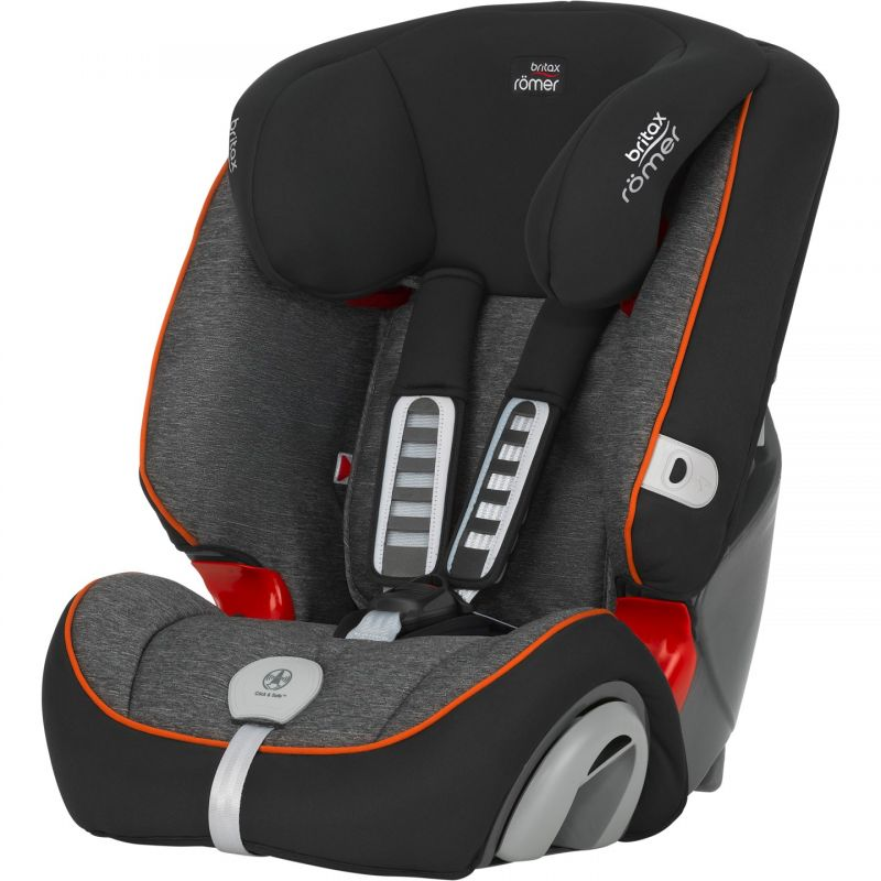 Britax Roemer Evolva 123 Plus Car Seat – Black