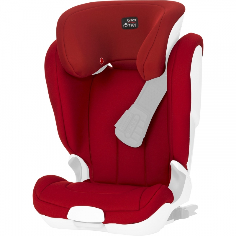 Britax Spare Covers for Kid XP/Kidfix XP SICT-Flame Red