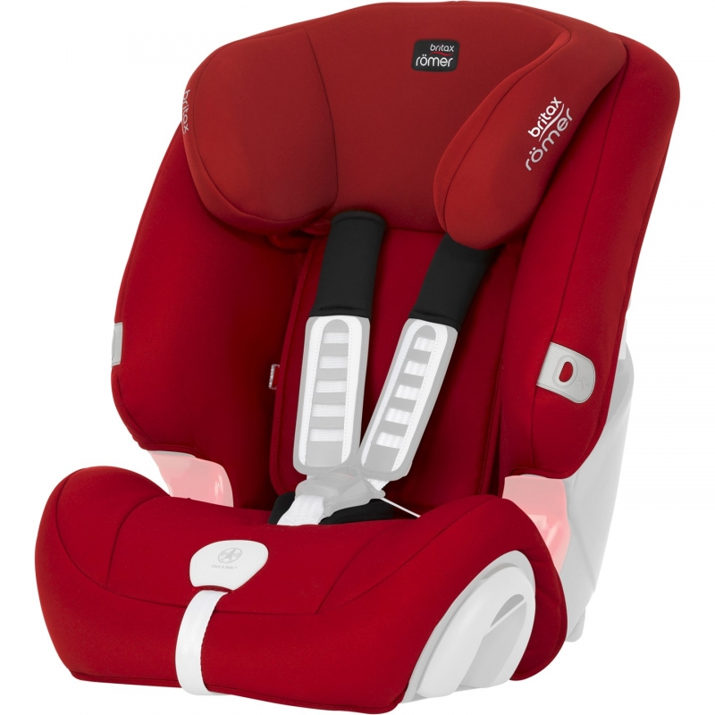 Britax Spare Covers for Evolva 123 Plus-Flame Red