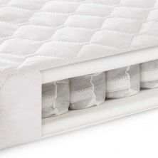 Kiddies Kingdom 6 Inch Cotbed Pocket Sprung Mattress (140x70)