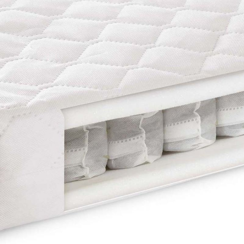 Kiddies Kingdom Deluxe Pocket Sprung Mattress (140x70)