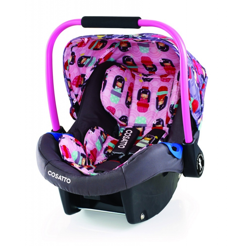 Cosatto Port 0+ Car Seat-Kokeshi Smile (New)