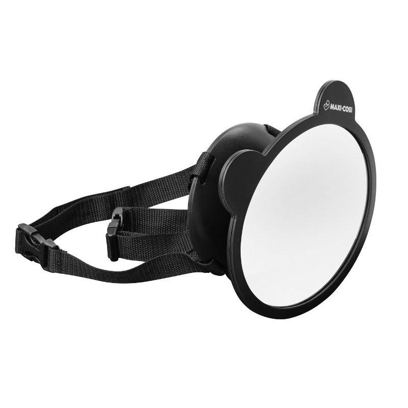 Maxi Cosi Back Seat Car Mirror Black (NEW)