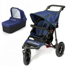 Out n About Nipper Single 360 V4 2in1 Pram System-Royal Navy