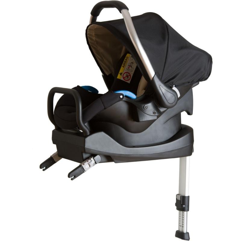 Hauck Comfort Fix ISOFIX Car Seat & Base-Black (New 2017)