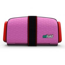 Mifold The Grab And Go Booster Seat-Perfect Pink