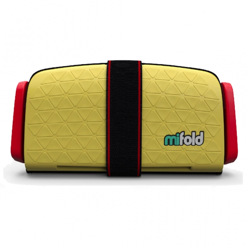 Mifold The Grab And Go Booster Seat-Taxi Yellow