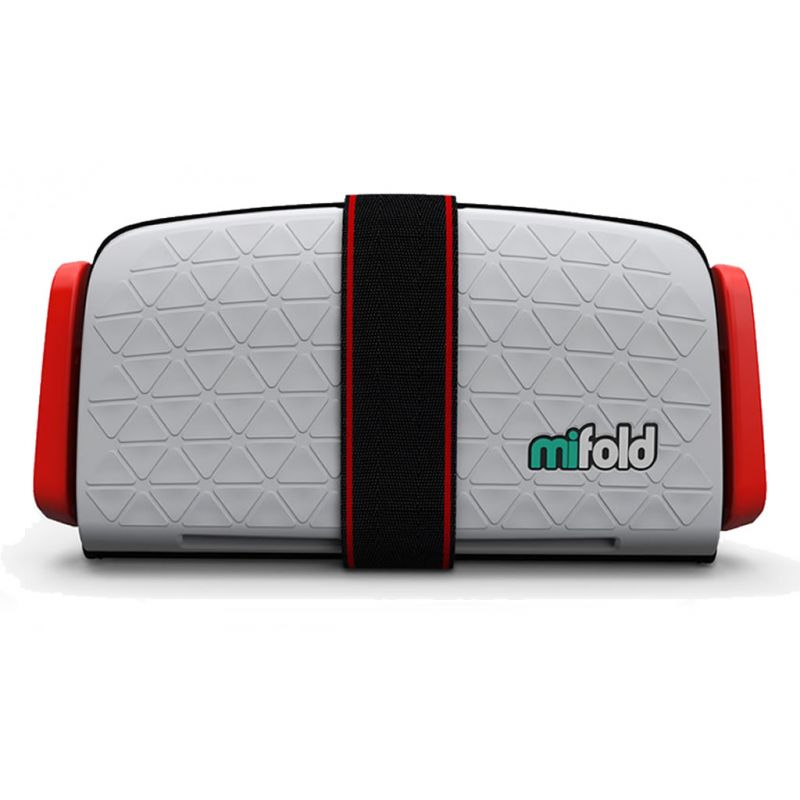 Mifold The Grab And Go Booster Seat-Pearl Grey