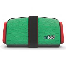 Mifold The Grab And Go Booster Seat-Lime Green