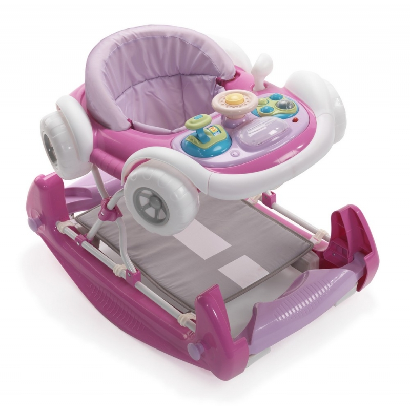 My Child Coupe Rocker/Walker-Pink