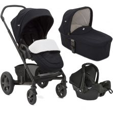 Joie Chrome DLX 3in1 Gemm Travel System-DOTS (New)